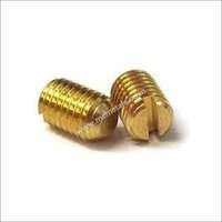 Brass Slotted Screw