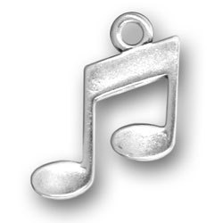 sterling silver Music charms