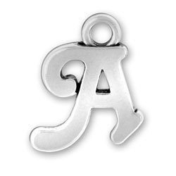 Sterling silver alphabets & Number charm