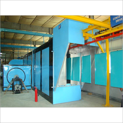 Ground Mounted Conveyor Type Paint Curing Oven