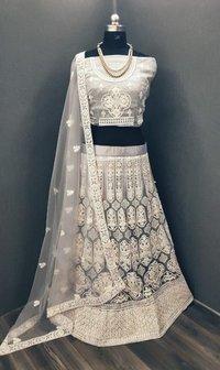 White Fancy Lehenga Choli