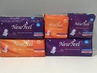 new feel sanitary pad