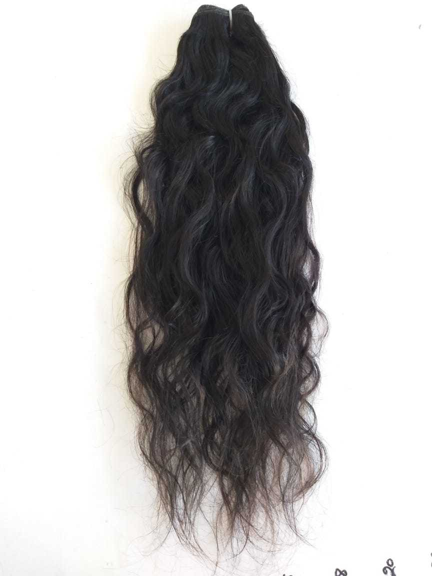 Indian Remy Natural Wavy Human Hair Extension