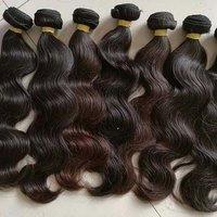 100% virgin human hair top quality Natural Deep Wavy Human Hair