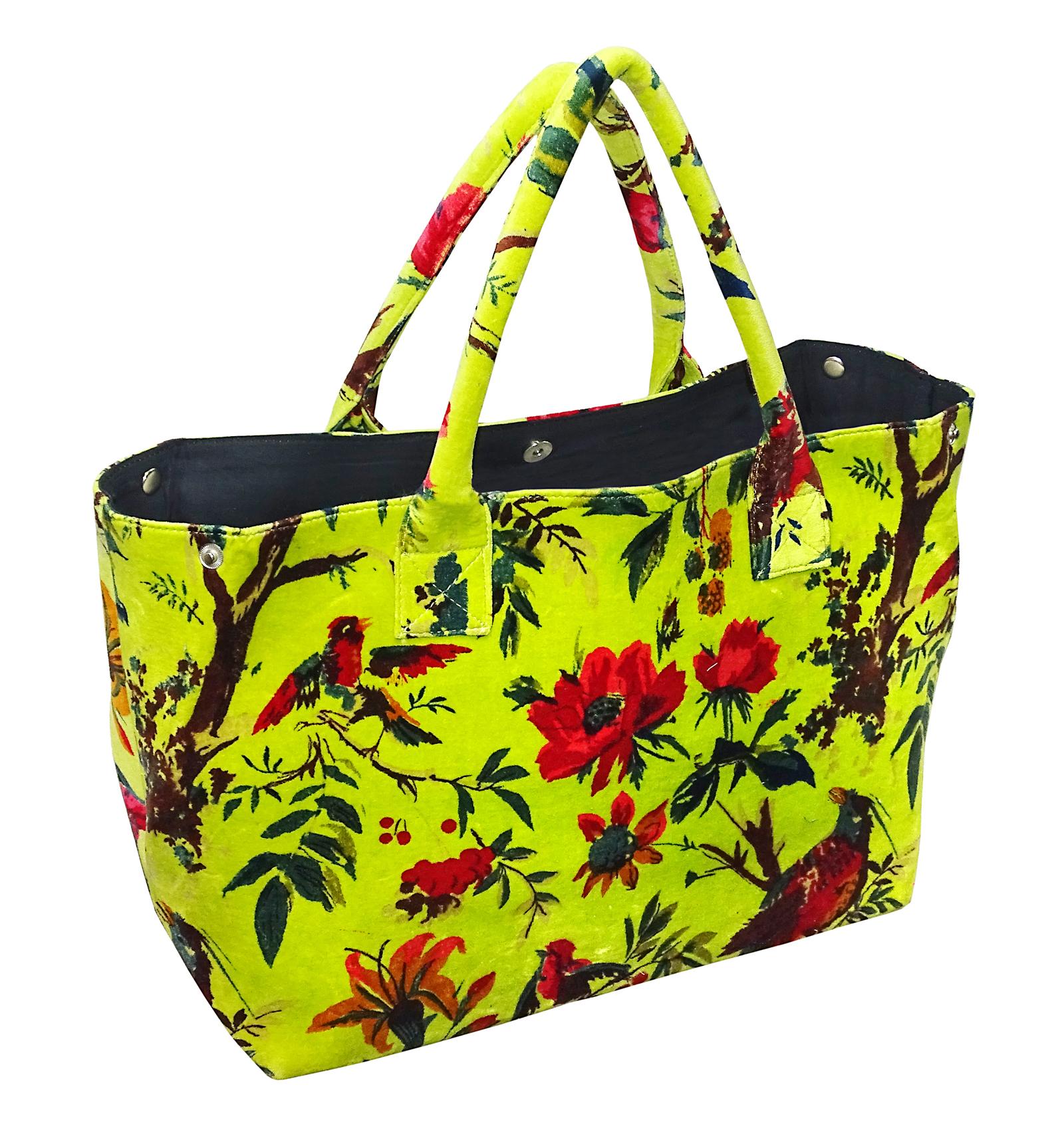 Velvet Printed Bags
