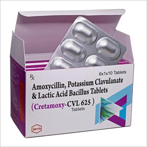 Amoxycillin - Potassium Clavulanate and Lactic Acid Bacillus Tablets