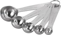 Measuring Spoons, Stainless Steel