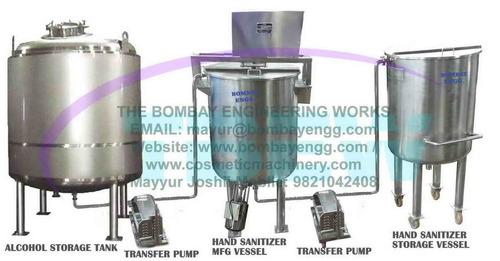 Hand Sanitizer Manufacturing Plant / Hand Sanitizer making machine