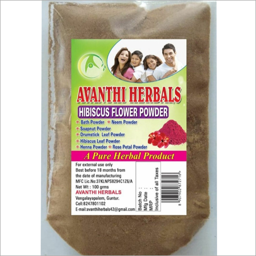 Hibiscus Flower Powder