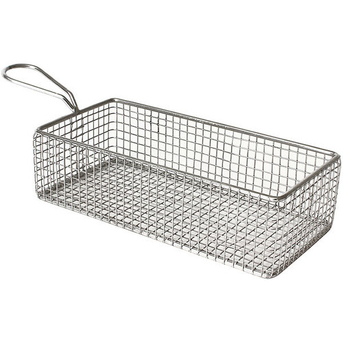Mini Serving Wire Basket Rect SS 22 x 11 x 5 cm