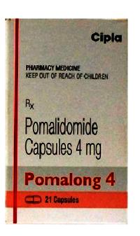 Pomalong 4mg Capsule (Pomalidomide (4mg) - Cipla Ltd)