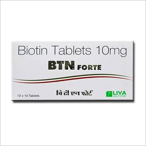 10 mg Biotin Tablets