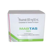 Mabtas 500mg Infusion (Rituximab (500mg) - Intas Pharmaceuticals Ltd)
