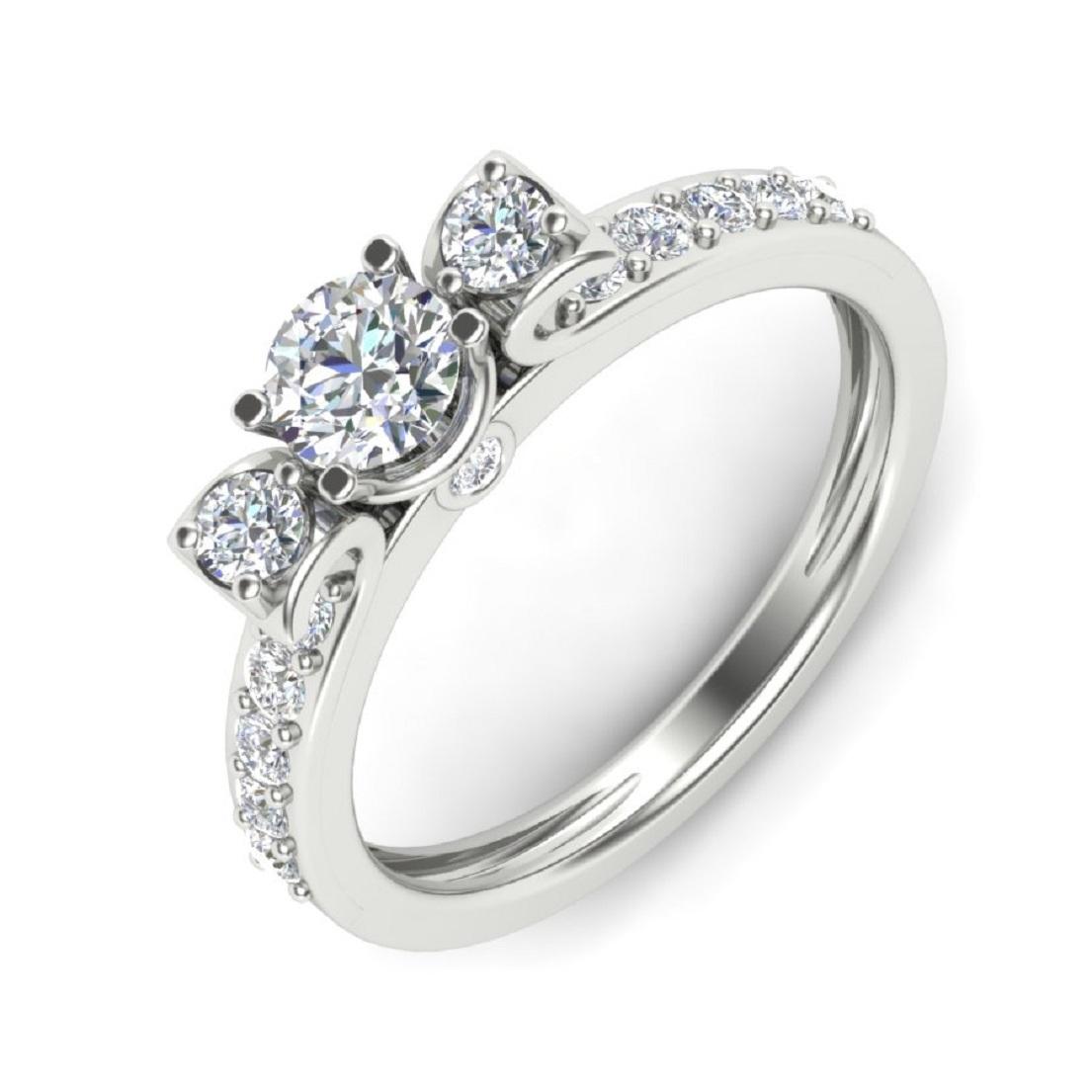 Cubic & Swarovski Zirconia Silver Jewelry