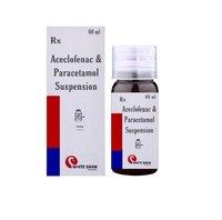 Aceclofenac & Paracetamol Syrup