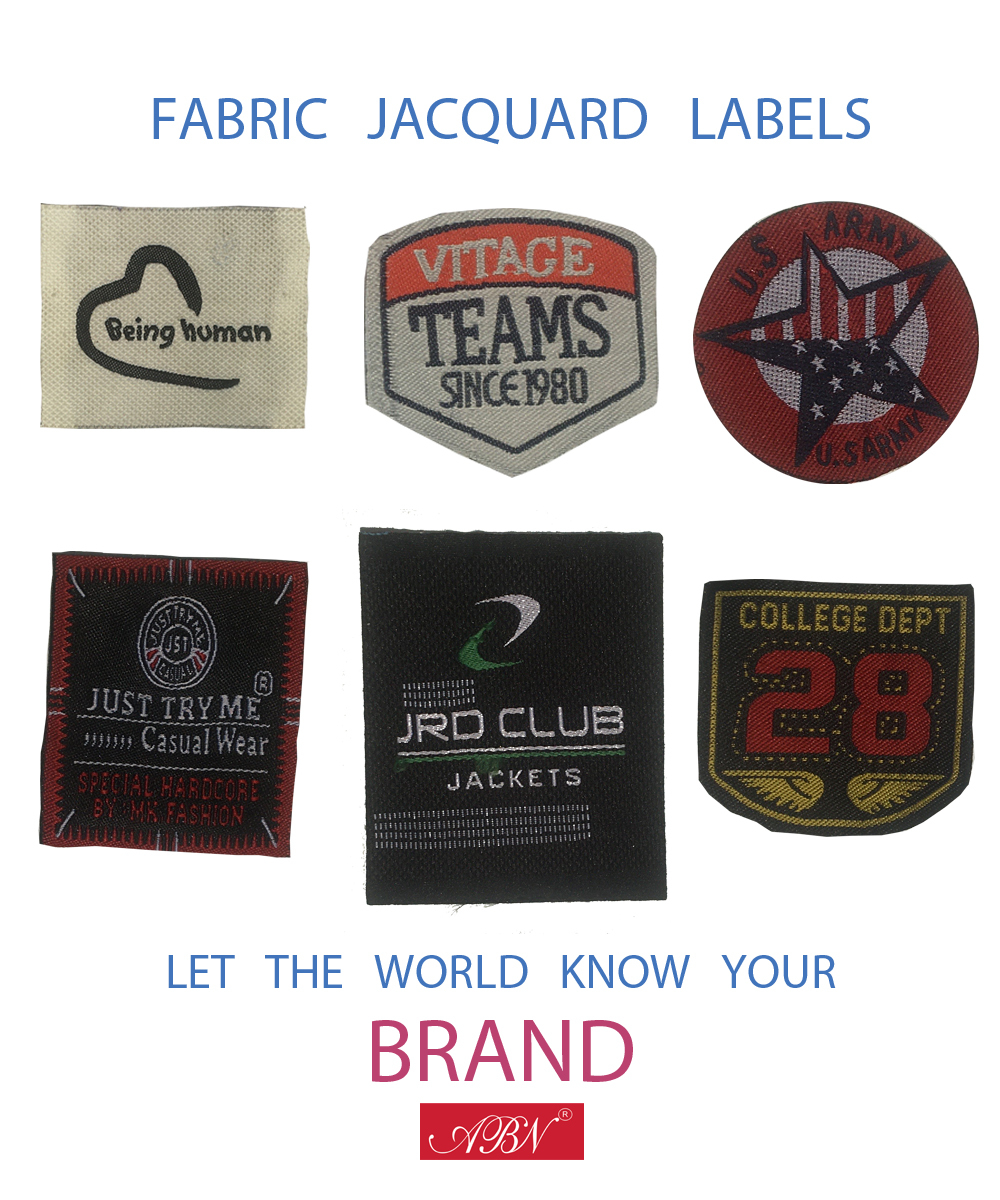 Fabric Labels Jacquard