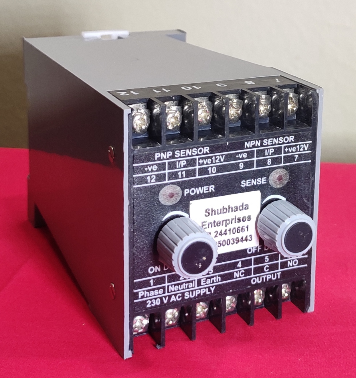 Power Supply with On Delay and Off delay Timer