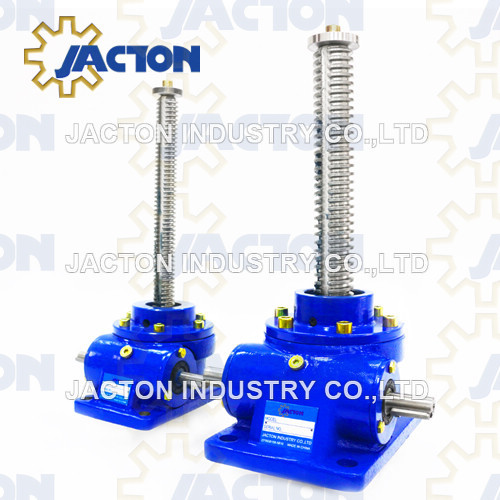 Single Face Worm Gear Screw Jack