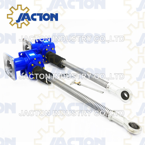 100 kN Single Face Worm Gear Screw Jack
