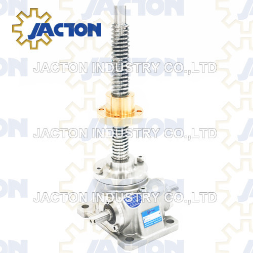 1T Stainless Steel Worm Gear Screw Jack