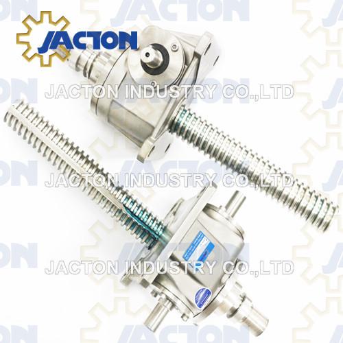 2.5T Stainless Steel Worm Gear Screw Jack