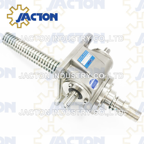 15T Stainless Steel Worm Gear Screw Jack