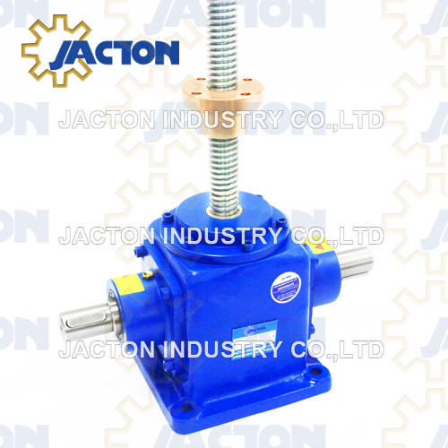 50KN Bevel Gear High Speed Screw Jack
