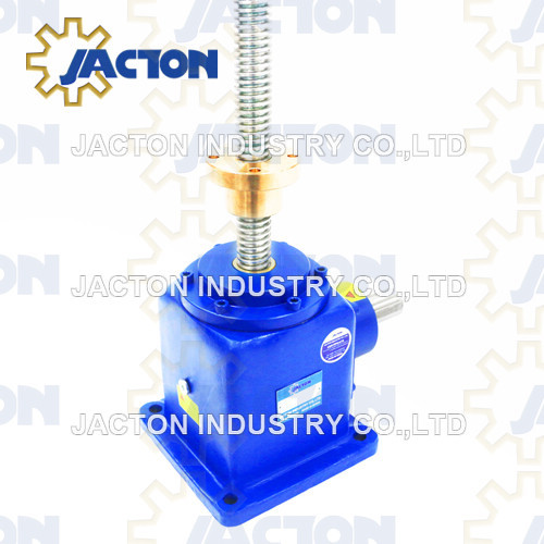 100KN Bevel Gear High Speed Screw Jack