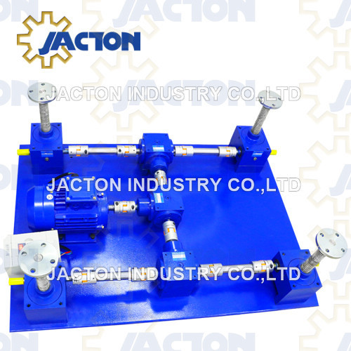 3 Post Lifting Points Worm Gear Screw Jack System