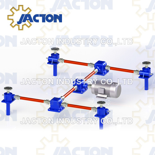 Worm Gear Screw Jack System
