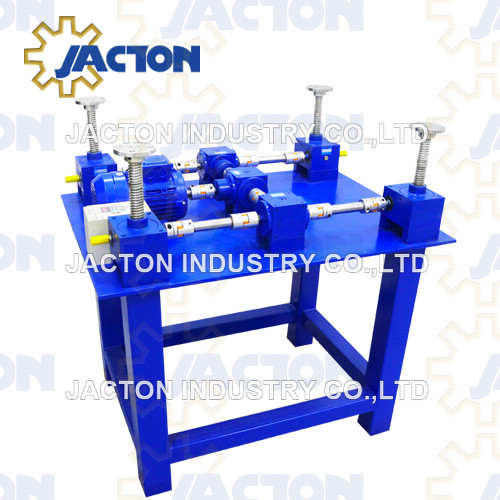 4 Post Lifting Points Worm Gear Screw Jack System