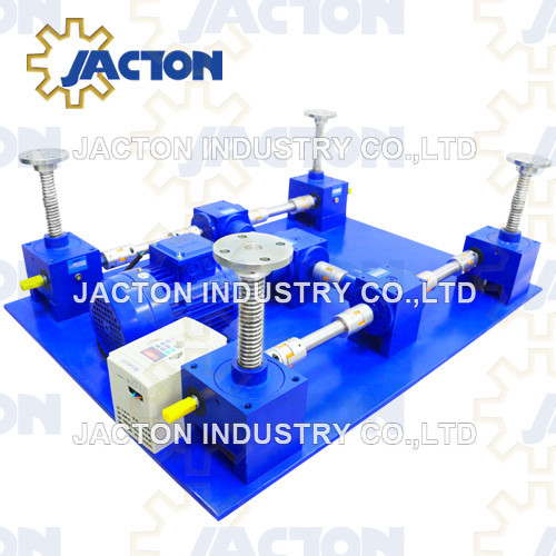 8 Post Lifting Points Worm Gear Screw Jack System