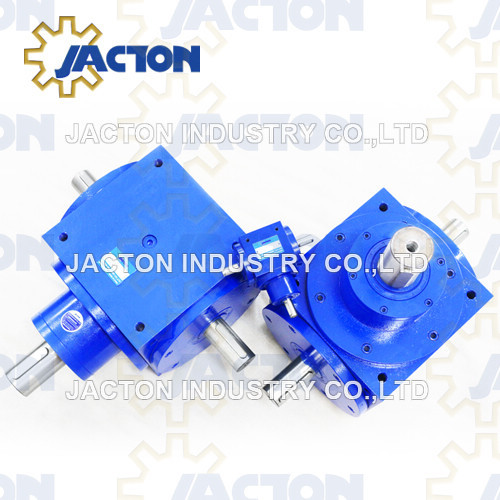 Small Size Mini Right Angle 1: 1 Ratio Jtp65 Spiral Bevel Gearbox
