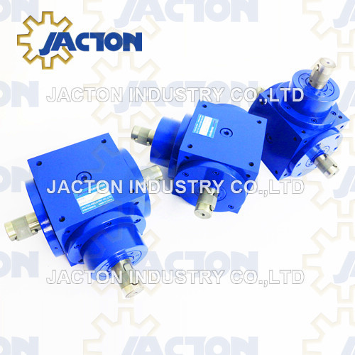 Cubic Jtp90 90 Degree Angle Transmission Spiral Bevel Gearbox