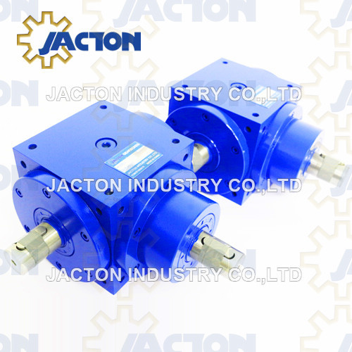 Hot Selling Cubic Jtp110 Right Angle Spiral Bevel Gearbox