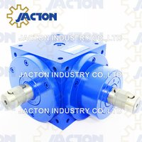High Efficiency 1: 1 Ratio 90 Degree Jtp140 Right Angle Shaft Gearbox