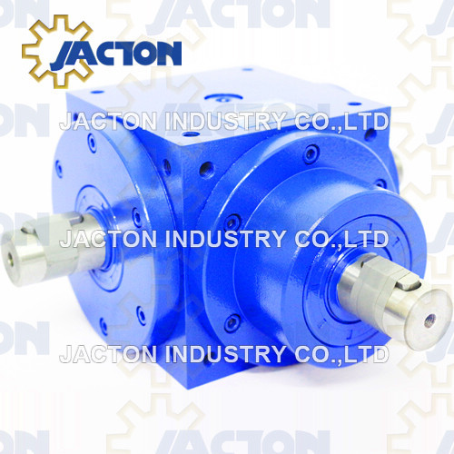 Compact Cubic Bevel Gearbox