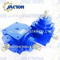 High Torque Jtp170 Gear Transmission Ratio 1: 1 Spiral Bevel Gearbox