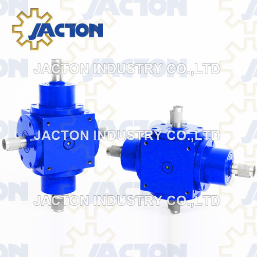 Highly Efficient Jtp210 Right Angle 1: 1 Ratio Bevel Gearbox