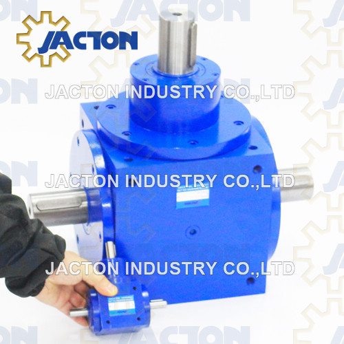 High Precision Jtp280 Spiral Bevel Precision Gearbox 60mm Drive Shaft