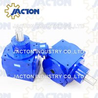 Jth140 Bevel Gearbox Hollow Shafts 1: 1 Ratios Bevel Gears Drive Hollow Shaft Speed Reducers