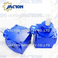 Jth170 90 Degree Gearbox Hollow Shaft 2: 1 Ratio Vertical Hallow Shaft Right Angle Gear Drive
