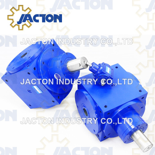 Jth240 Angle Gearbox Hollow Shaft 1 to 1 Ratio 90 Degree Gearboxes Hollow Shafts