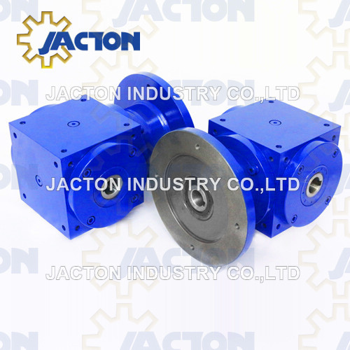 Jth280 Hollow Shaft Spiral Bevel Gear Reducer 2: 1 Ratio Hollow Shafts Mount Gearboxes