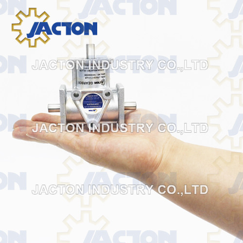 Aluminum Jta15 Right Angle Bevel Gear Reducer