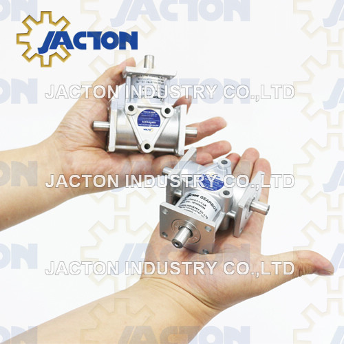 Corrosion Resistant Aluminum Housings Jta20 Spiral Bevel Gearbox