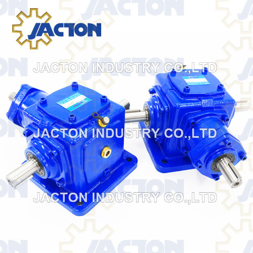 Jt19 Spiral Bevel Gearbox with Various Input Output Shaft Arrangements