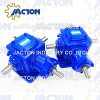 Jt40 Right Angle Gearbox Bevel Gearboxes Miter Gear Boxes