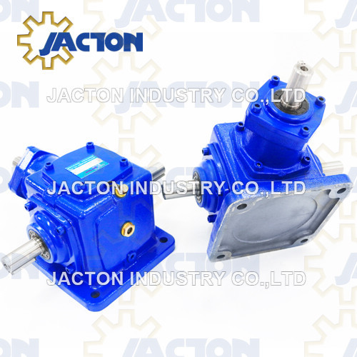 Heavy Duty Jt50 Right Angle Gearboxes Gear Drives 90 Degree Bevel Boxes