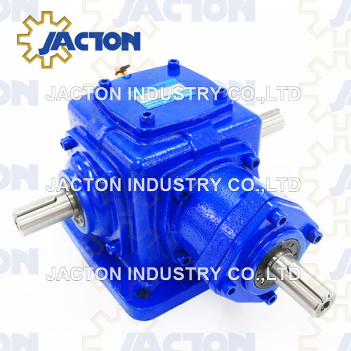 Heavy Duty Jt72 Custom Bevel Gears and Right Angle Gearboxes